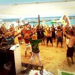 הפקת אירוע חוף