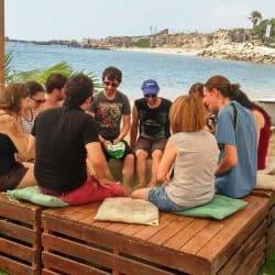 אירועי חברה בחוף