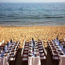 אירוע על חוף הים